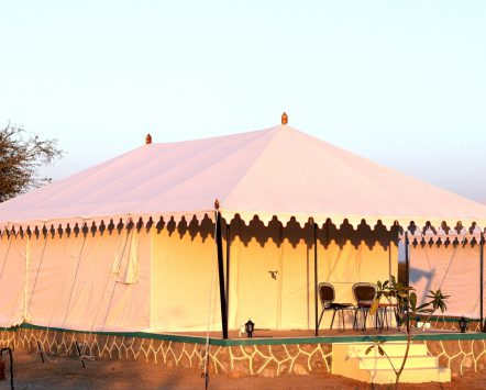 view of Tents